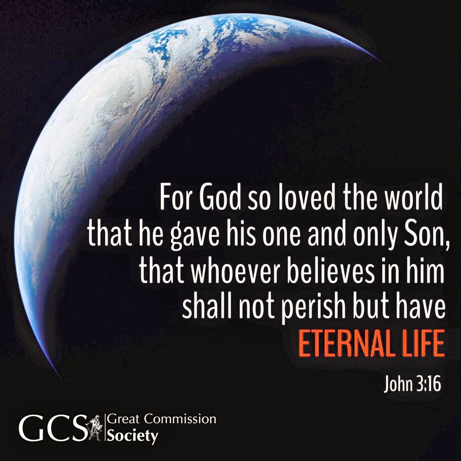 Why The Great Commission Society?